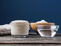 Ingrediente pentru pâinea cu maia